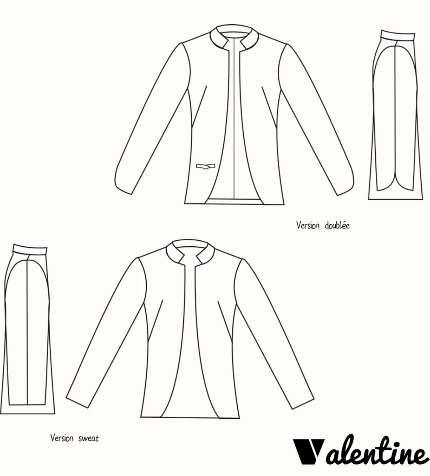 Image result for veste valentine chez machine